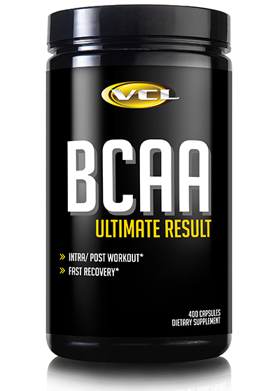 BCAA Ultimate Result 400 Capsules