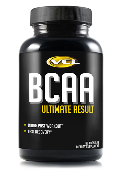 BCAA Ultimate Result 60 Capsules
